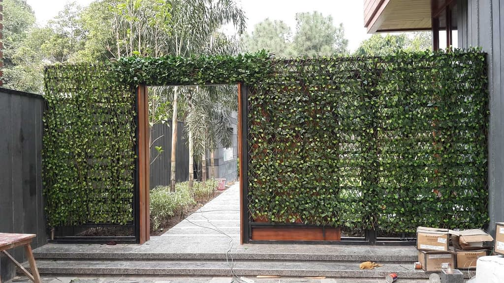 Artificial Vertical Gardens, Outdoor Artificial Green Walls