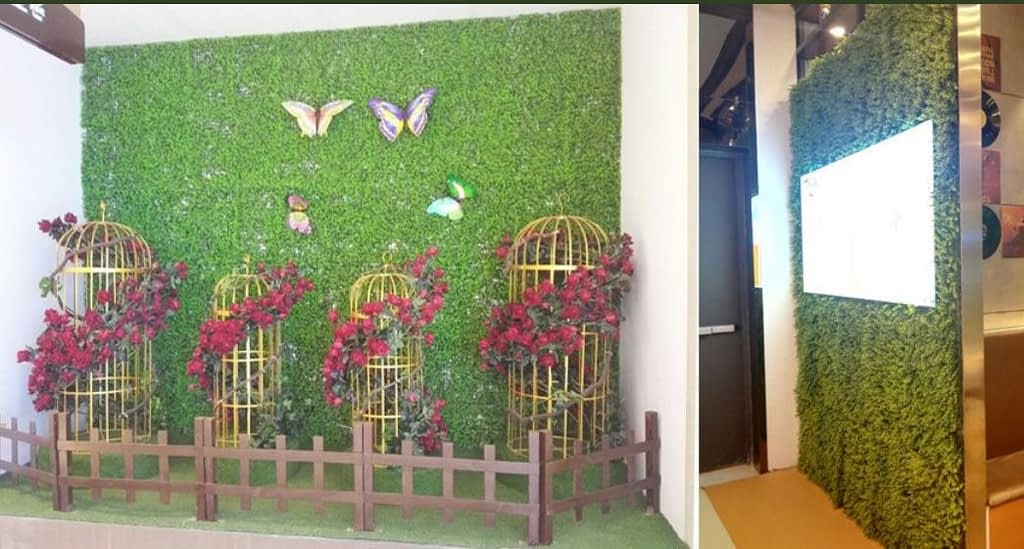 Artificial Vertical Gardens