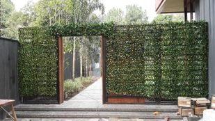 Green Artificial Walls Sample