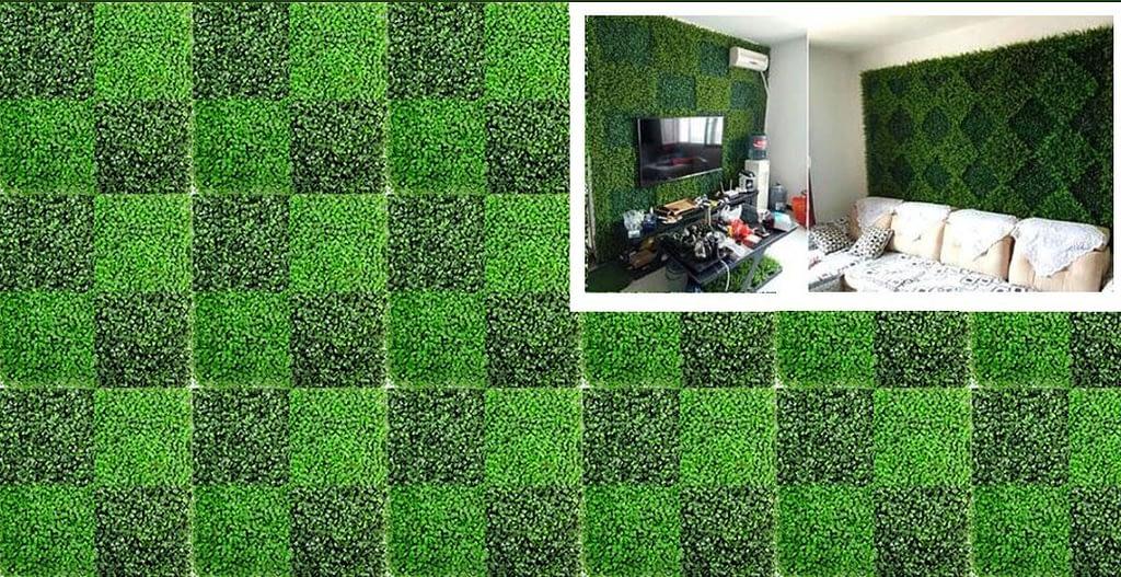 Outdoor Artificial Green Walls Moss Walls Bark Walls