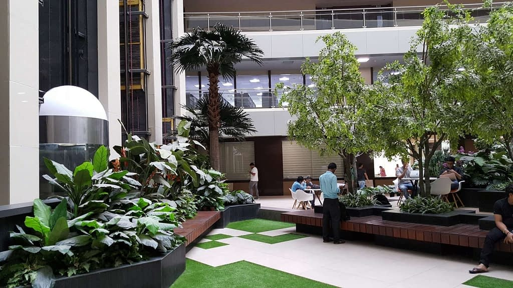 Outdoor Artificial Green Walls